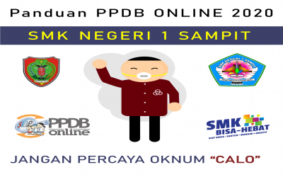 Panduan Pendaftaran PPDB ONLINE SMK N 1 SAMPIT TAHUN 2020